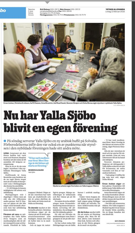 Yalla Sjöbo